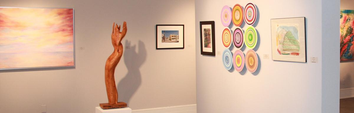 Sumter Art Gallery Display