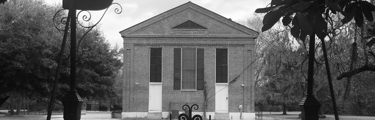 back side of Salem Black River Church