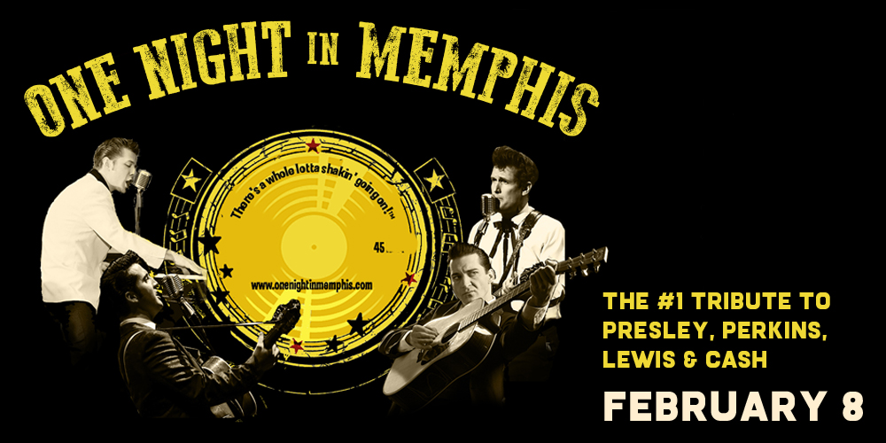 One Night in Memphis Feb 08 2020