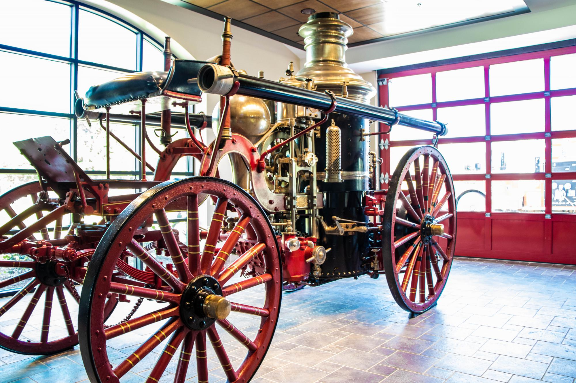 LaFrance Fire Steam Engine