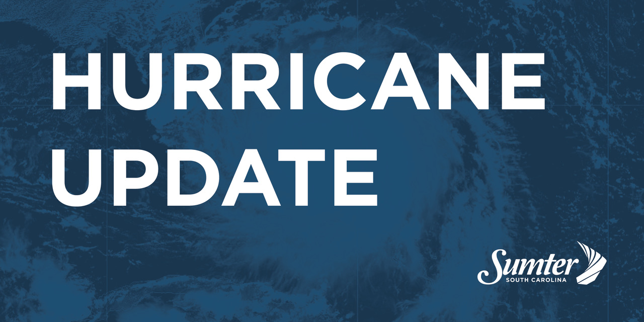 Hurricane Dorian Updates for Sumter SC | City of Sumter, SC