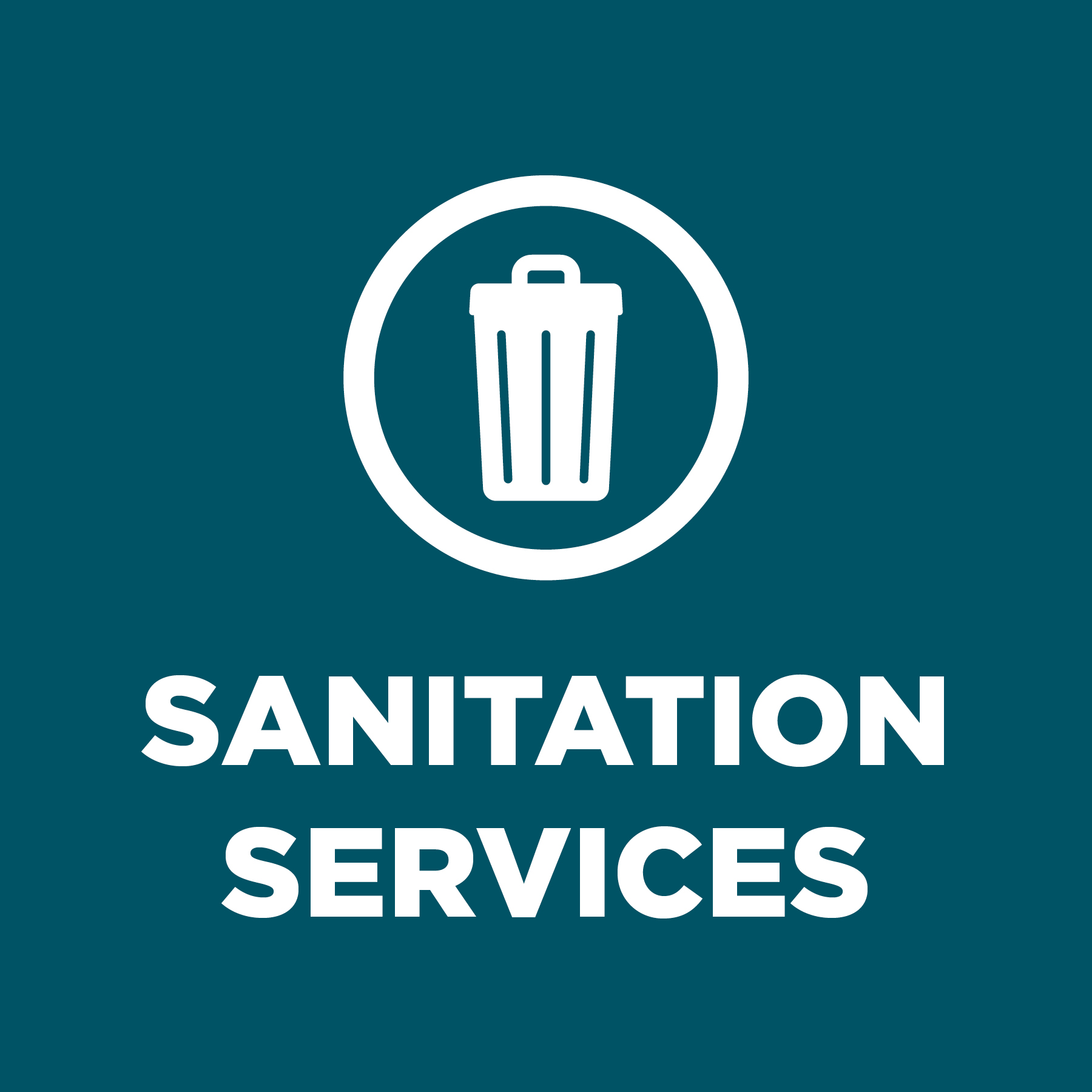 Sanitation Services