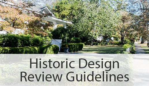 Historic Design Review Guidelines