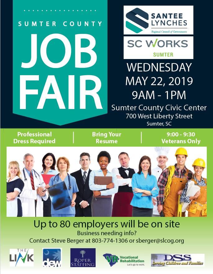 Sumter County Job Fair | City of Sumter, SC